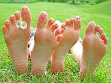 pieds bonheur